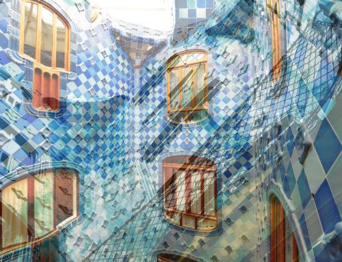 Barcelona zeitgenoessische Fotografie Doppelmotiv