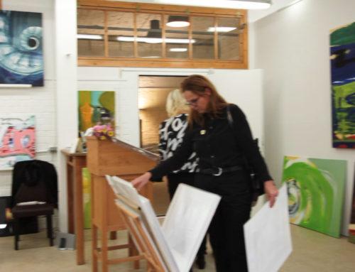 Re-opening & Neueröffnung des Galerie- und Atelierraums von Andrea von Melms in Berlin